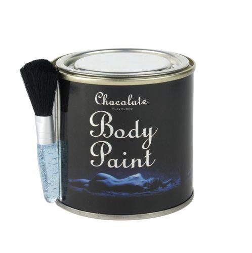 Schokolade Körper<br>malen in einer Dose