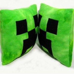 Plüsch Kissen grün<br>40 x 40 cm