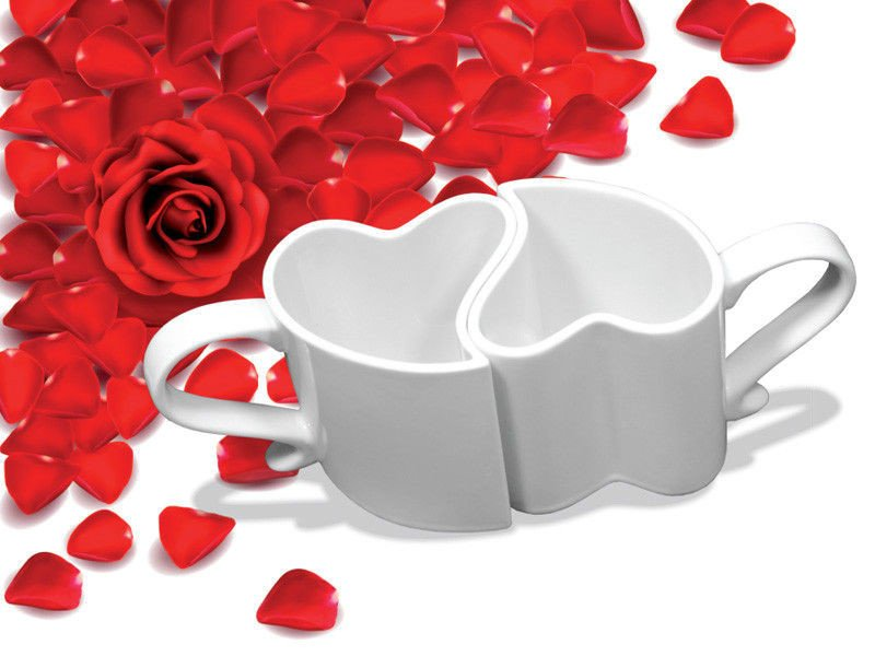 Hot Tassen der Liebe