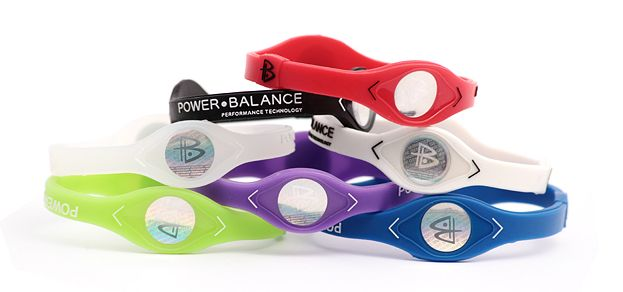 POWER BALANCE<br>strap - red