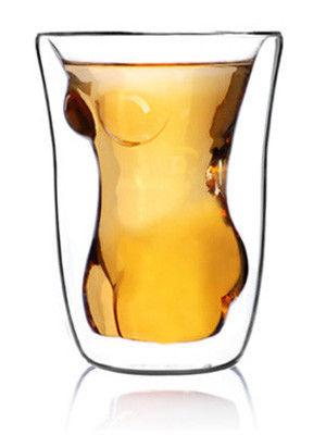 Seductive glass - woman