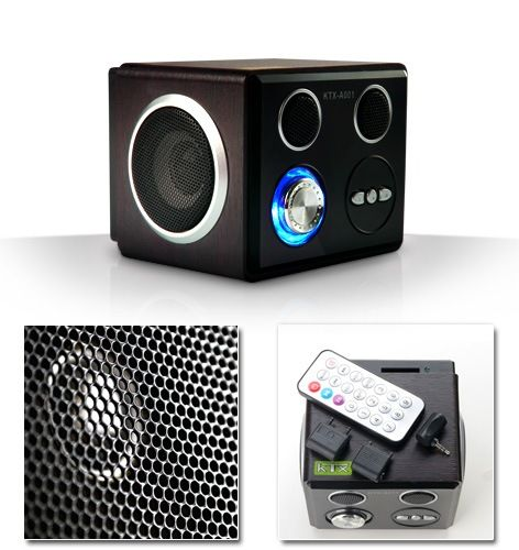 Multimedia music box 6W, USB, MP3, SD, MMC, Jac