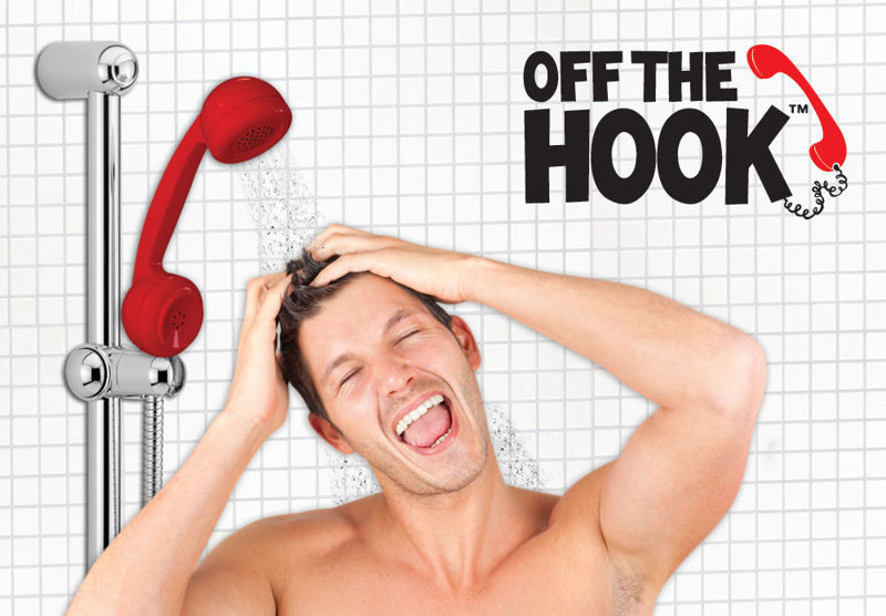 Telephone hand shower