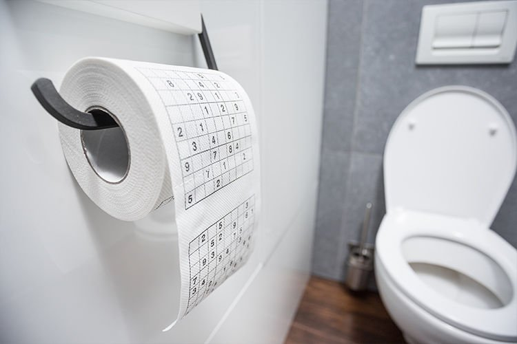 Toilet paper Sudoku XL