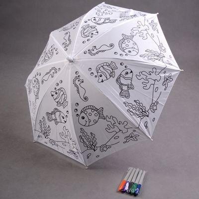 Paraguas al color