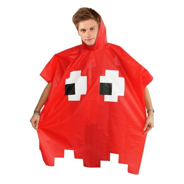 Poncho Retro Game - Red