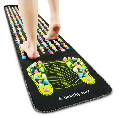 Mat for foot massage and body - Your path to zdr