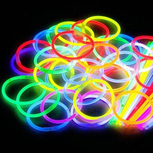 Glowing partito<br> braccialetto 15<br>pezzi