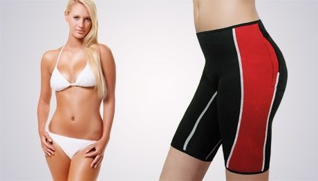 Neoprene slimming and<br>anti-cellulite shorts