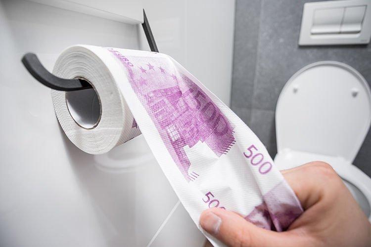 Toilet paper EUR 500 XL