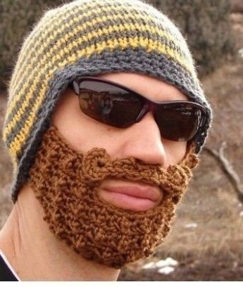 Hat with a beard