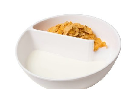 Perfect cereal & snack bowl