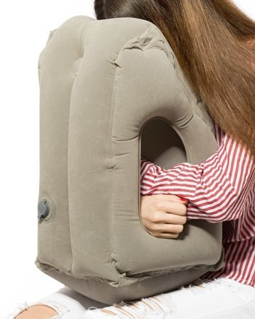 Inflantable travel pillow COMFORT