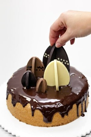 3D Chocolate mould EGGS