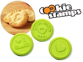 Cookie stamps 3 pcs