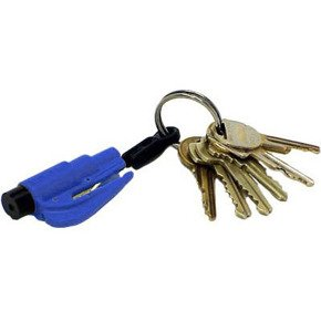 Resque keychain - blue