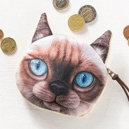 3D Cat coin bag model 1