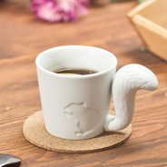 Mug tail - squirrel