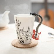Music mug - RED GUITAR