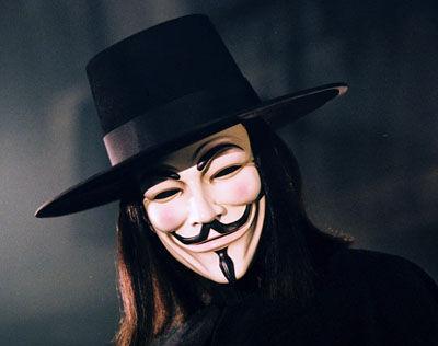 Anonymous mask  ...V For Vendetta Mask