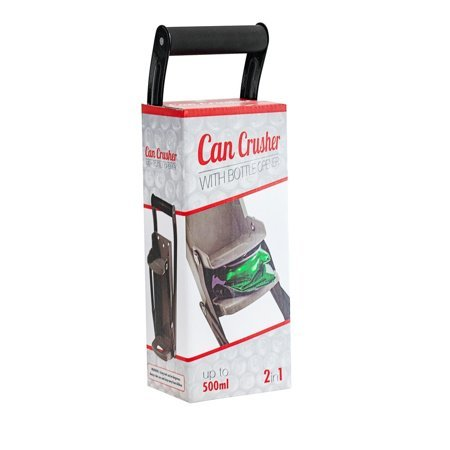 Can crusher 2in1