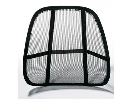 Ergonomic back seat supporter