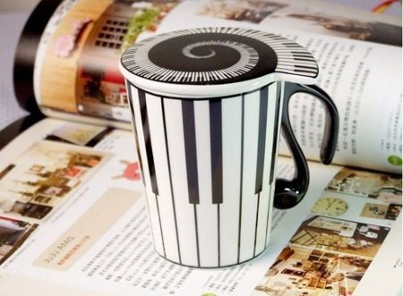 Music mug - KEYBOARD