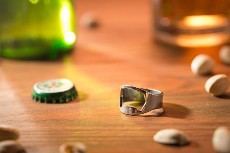 Ring bottle opener 2 pcs