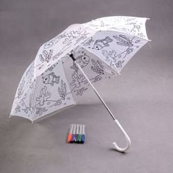Umbrella with colour markers