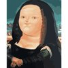Fat Mona Lisa - painting by numbers set