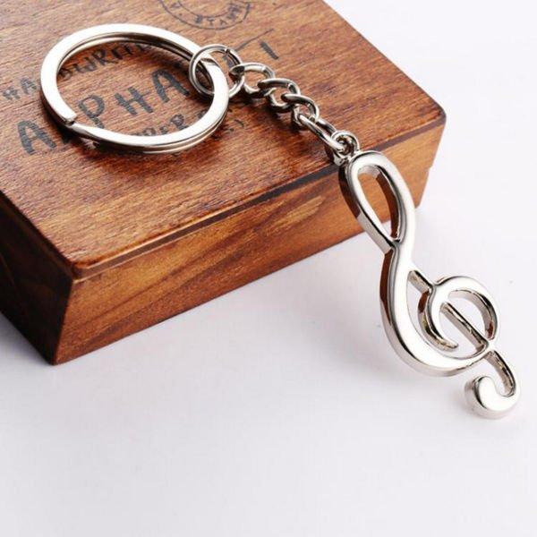 Přívěšek pro muzikanty - Houslový klíč