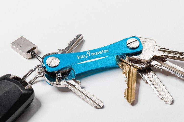 Organizér na klíče, modrý