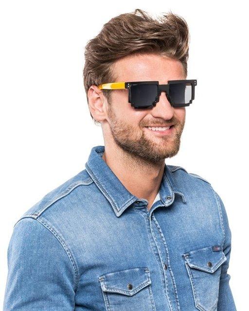 Pixel Brýle žlutá
