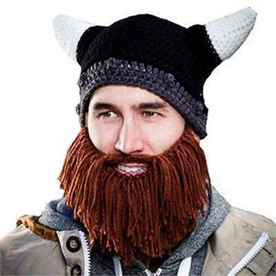 Pletená čepice Viking