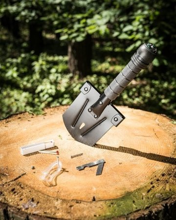 Multifunctional shovel 8in1