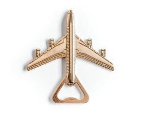 Bottle opener - jet airliner