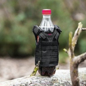 Bottle tactical vest - BLACK