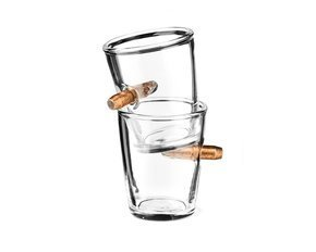 Bulletproof SHOT GLASSES 2 pcs