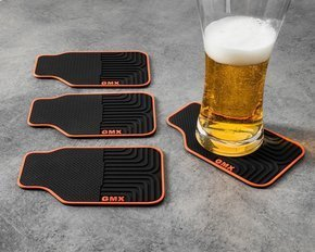 Coasters 4 pcs set CAR MAT