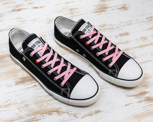 Glow in the dark shoelance - pink