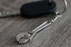 Keychain ADJUSTABLE WRENCH