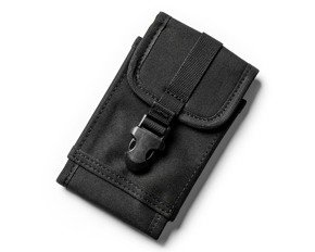 Phone outdoor waist bag - BLACK