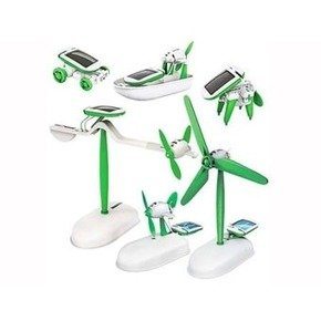 Solar 6in1 robot kit