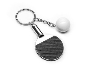 Sport keychain - table tennis