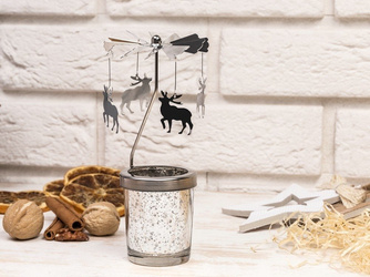 Tealight holder Moose