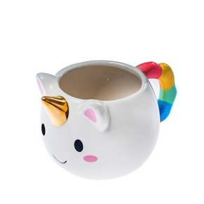 Unicorn mug with a  GOLDEN HORN
