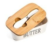 Butter box with knife