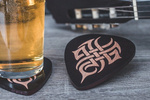 Guitar coasters 4 pcs