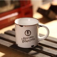 Retro MINI porcelain mug - Refined Vanguards