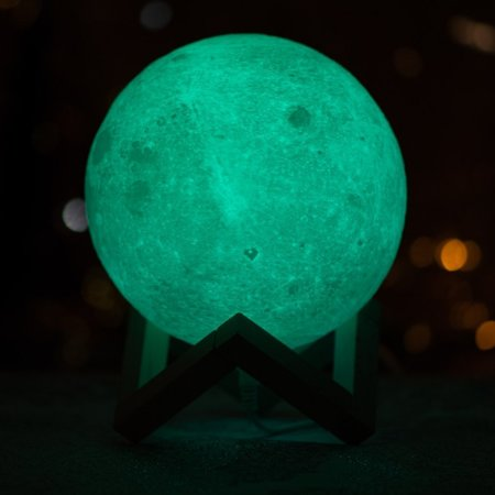 3D lamp - LUNA - 16 colors